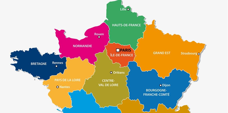 Les différents accents régionaux français