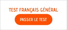 Test de français gratuit